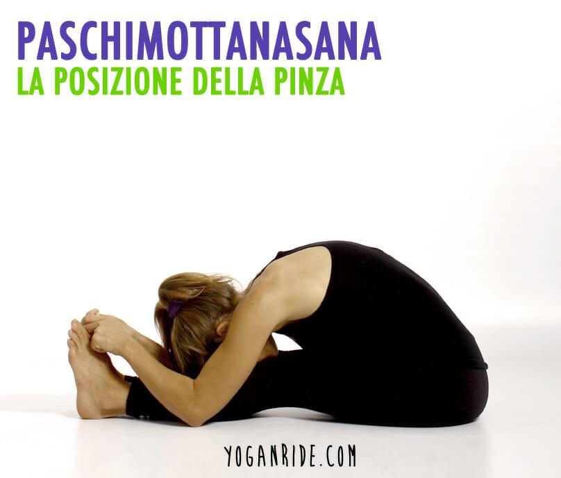 La posizione della pinza (pashimottanasana)