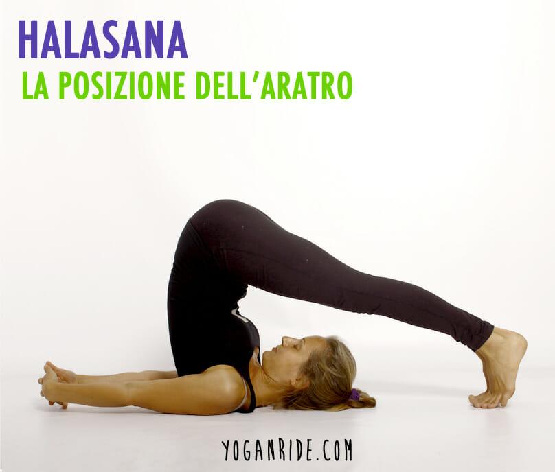 La posizione dell'aratro (halasana)